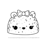 How to Draw Glittery Berry Go-Go from Num Noms