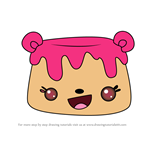 How to Draw Hannah Flana from Num Noms
