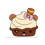 How to Draw Hottie Chocolate from Num Noms