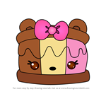 How to Draw I.C. Sandwich from Num Noms