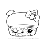 How to Draw Ina Ree from Num Noms