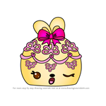How to Draw Lacy Cake from Num Noms