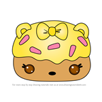 How to Draw Lemon Donut Gloss-Up from Num Noms