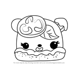How to Draw Margo Rita from Num Noms