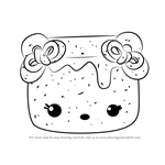 How to Draw Marsha Violet from Num Noms