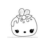 How to Draw Mellie Pop from Num Noms