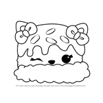 How to Draw Mint T. Cream from Num Noms