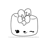 How to Draw Minty Mallow from Num Noms