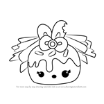 How to Draw Mrs. Icing from Num Noms