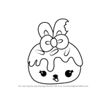 How to Draw Nana Cream from Num Noms