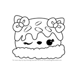 How to Draw Nana Splits from Num Noms