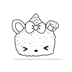 How to Draw Nea Snow from Num Noms