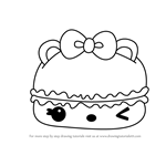 How to Draw Nilla Créme Gloss-Up from Num Noms