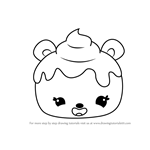 How to Draw Nilla Cream from Num Noms