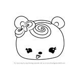 How to Draw Nilla Swirl from Num Noms