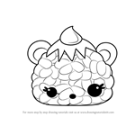 How to Draw Oni Giri from Num Noms