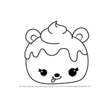 How to Draw Patty Peach from Num Noms