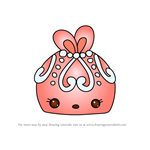 How to Draw Peachy Kim from Num Noms