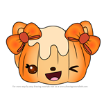 How to Draw Penelope Pumpkin from Num Noms