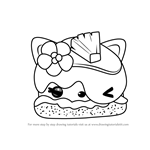 How to Draw Piña Aloha from Num Noms