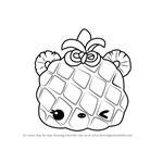 How to Draw Piney Apple from Num Noms