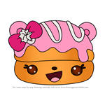 How to Draw Portia Puff from Num Noms