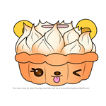 How to Draw Puddin' Pie from Num Noms