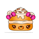 How to Draw Pumpkin Pound from Num Noms