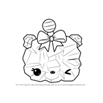 How to Draw Rockie S. Berry from Num Noms