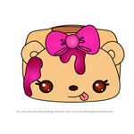 How to Draw Rosie Raspberry from Num Noms