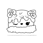 How to Draw Sara Strawberry from Num Noms