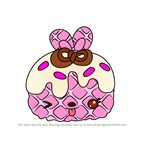 How to Draw Sprinkle Berry from Num Noms