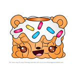 How to Draw Sprinkle Crunch from Num Noms