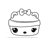 How to Draw Straw-Nana Gloss-Up from Num Noms
