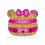 How to Draw Sugar Wafer from Num Noms