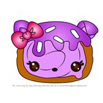 How to Draw Susan Spiral from Num Noms
