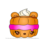 How to Draw Terry Berrywich from Num Noms