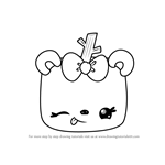 How to Draw Toasty Mallow from Num Noms
