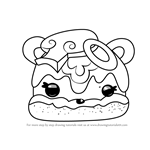 How to Draw Veggie Terry from Num Noms