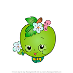 How to Draw Apple Blossom from Shopkins