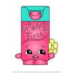 How to Draw Bree Freshner from Shopkins