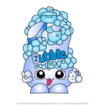 How to Draw Bubble Tubs from Shopkins