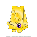 How to Draw Chee Zee from Shopkins