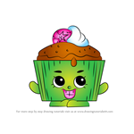 How to Draw Cupcake Chic from Shopkins