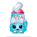 How to Draw Dollops from Shopkins