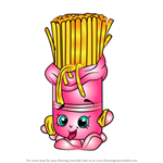 How to Draw Fasta Pasta from Shopkins