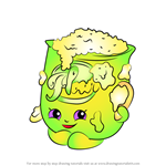 How to Draw Fi Fi Flour from Shopkins