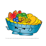 How to Draw Fifi Fruit Tart from Shopkins