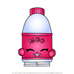 How to Draw Flava Ava from Shopkins