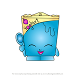 How to Draw Ghurty from Shopkins